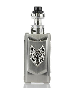 Snowwolf Starter Kits Full Stainless Steel Snowwolf Mfeng 200W TC Starter Kit