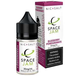 Space Jam Robo Fuel Juice Andromeda Nic Salt | Blueberry Pomegranate