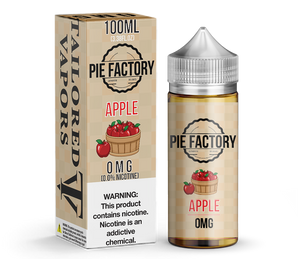 Tailored Vapors Juice Apple Pie Factory