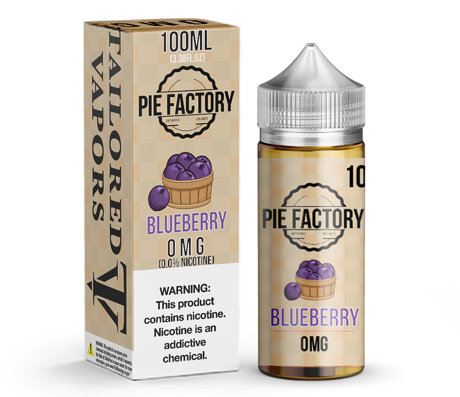 Tailored Vapors Juice Blueberry Pie Factory