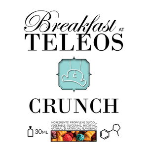 Teleos Juice Crunch | Crunchy Berries Cereal with Marshmallow Bits