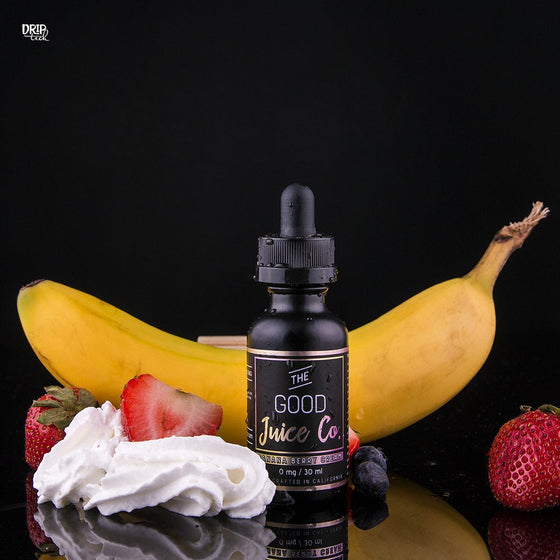 The Good Juice Co. Juice Banana Berry Cream | Banana Strawberry Milkshake