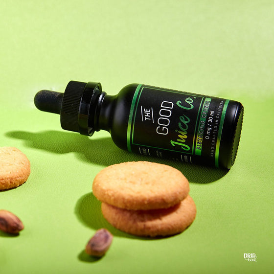 The Good Juice Co. Juice Pistachio Crunch | Pistachio Cookie