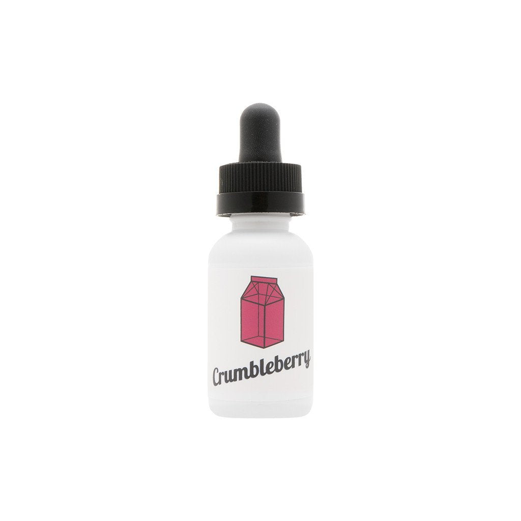 The Milkman Juice Crumbleberry | Raspberry Crumble & Cream