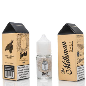 The Milkman Juice Gold Salt |  Tobacco with Honey and Cream