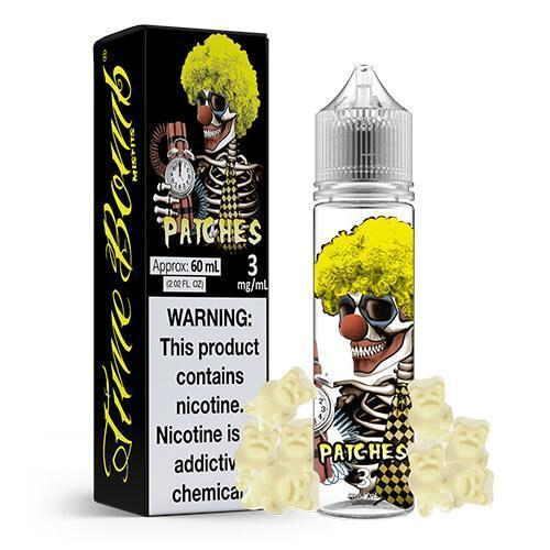 Time Bomb Vapors Juice Patches | Clear Gummy Candy