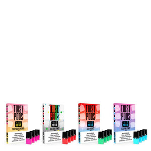 Twist E-Liquids Juice TWST Compatible Pods 4-Pack