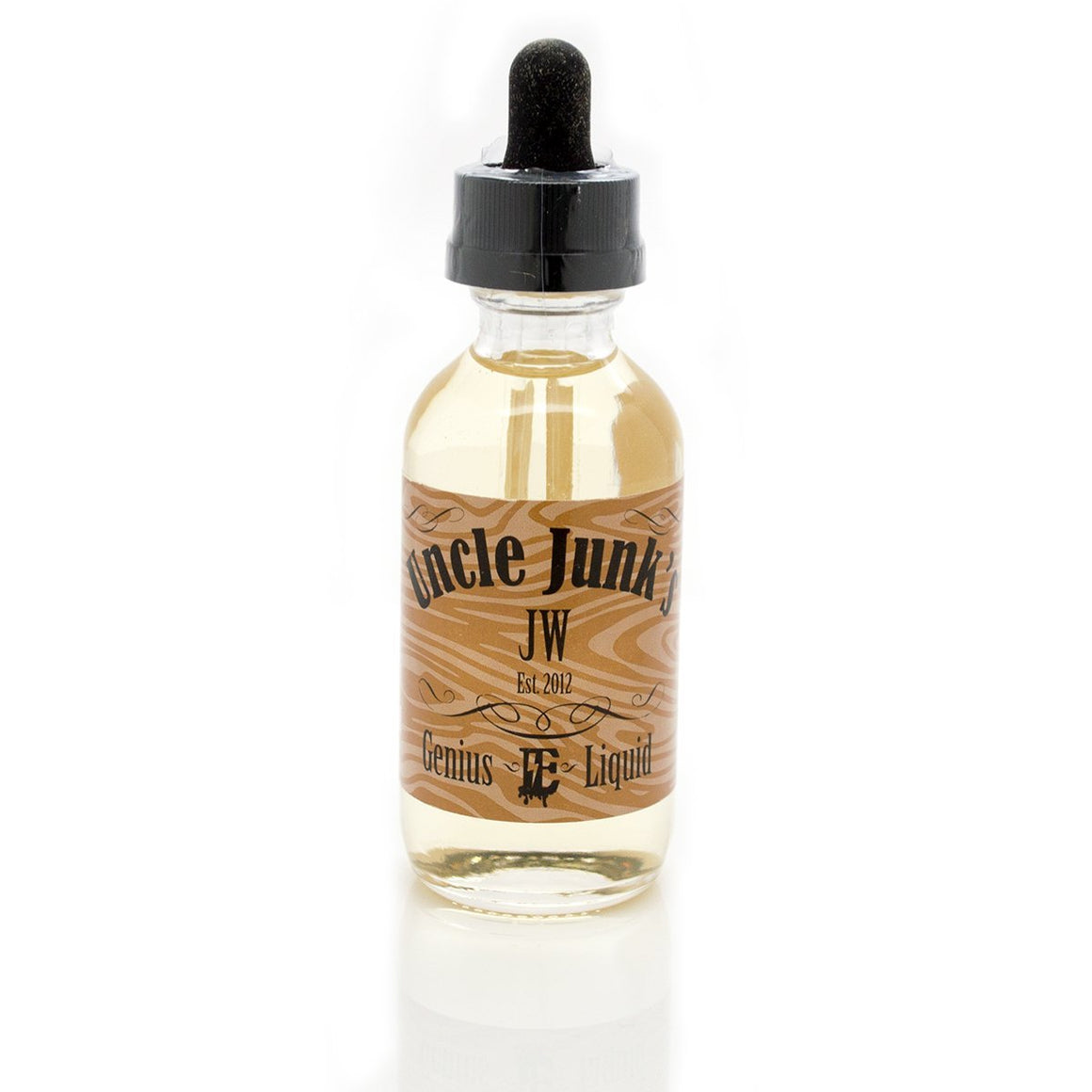 Uncle Junk's Genius Juice Juice Jon Wayne (JW) | Honey & Caramel Tobacco - Best Selling Tobacco Vape