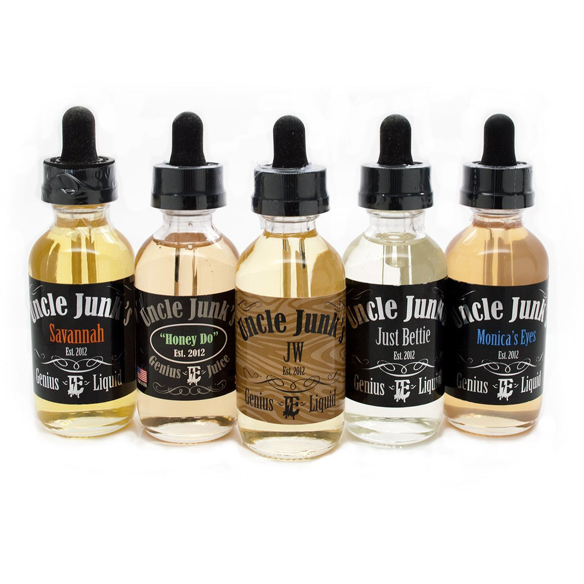 Uncle Junk's Genius Juice Juice Uncle Junk's Original Bundle (300mL)