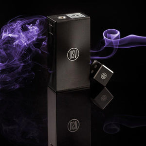 USV Vapes Disco Black USV-L Force 75W TC Box Mod