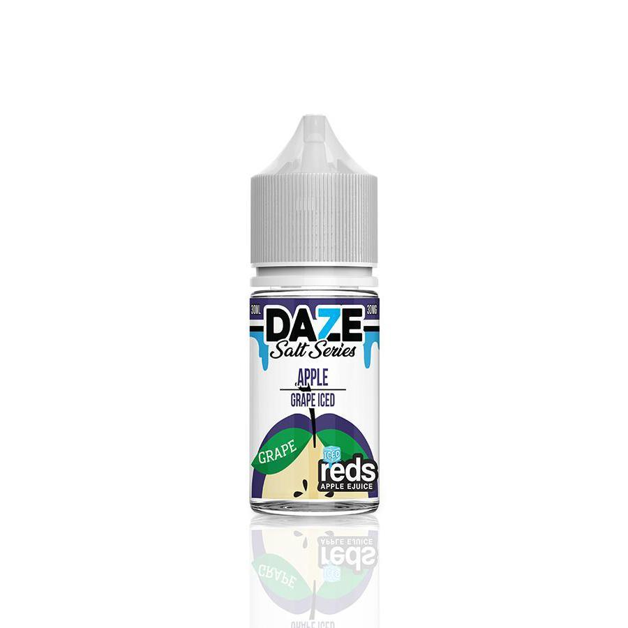 Vape 7 Daze Juice Reds Apple Grape Salt Iced