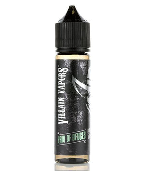 Villain Vapors Juice Pair of Deuces | Honeydew & Pear