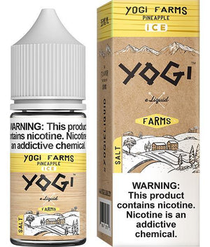 Yogi Juice Yogi Farms Salt Pineapple Ice