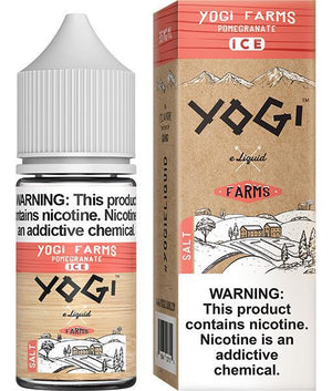 Yogi Juice Yogi Farms Salt Pomegranate Ice