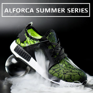 Alforca Cool Summer Series Indestructible Super Lightweight EVA Steel Toe Safety Shoes - Alforca