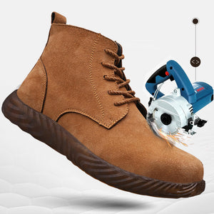 Alforca High Top Anti-Spatter Safety Steel Toe Boots