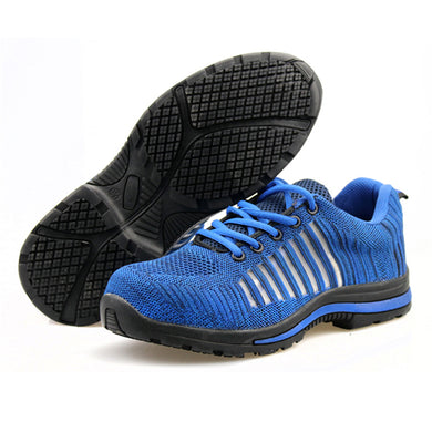 Alforca BREATHABLE Lightweight Bulletproof Midsole Anti-puncture Safety Shoes - Alforca