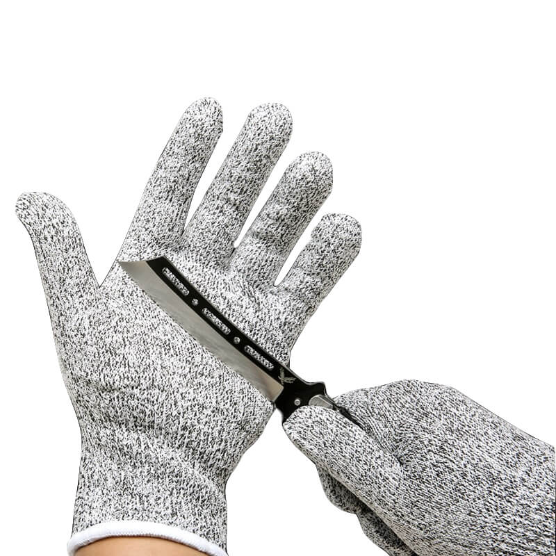 Alforca Elastic Cut-Resistant Safety Gloves with Level 5 Protection - Alforca