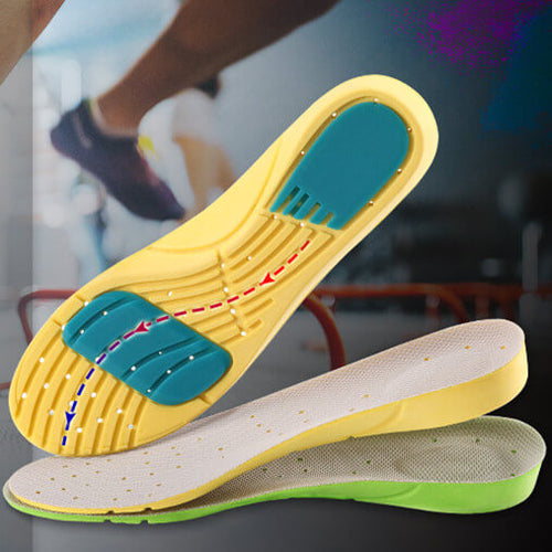 Alforca EVA Memory Foam Stretch Breathable Deodorant Shoes Cushion