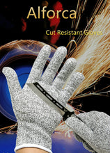 Load image into Gallery viewer, Alforca Elastic Cut-Resistant Safety Gloves with Level 5 Protection - Alforca