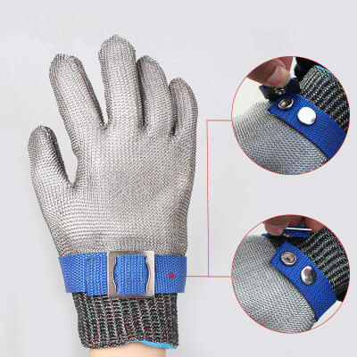 Alforca Stainless Steel Metal Mesh Safety Glove