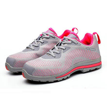 Load image into Gallery viewer, Alforca Pink Lightweight Bulletproof Midsole Anti-puncture Safety Shoes - Alforca