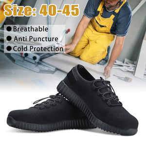 Alforca New Super Light Breathable Steel-toe Sneakers Stylish Safety Shoes - Alforca