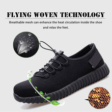 Load image into Gallery viewer, Alforca New Super Light Breathable Steel-toe Sneakers Stylish Safety Shoes - Alforca