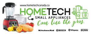 small appliances, Hometech, kitchenaid, Bosch, toaster, vacuum, coffee, bakeware, tools, blender, Vitamix,
