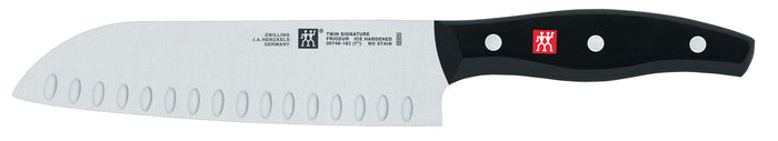 "TWIN® Signature SANTOKU 7"" / 180 mm, GRANTON EDGE"