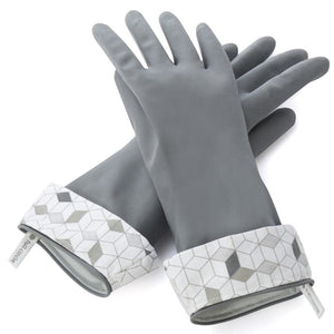 Full Circle Splash Patrol Natural Latex Gloves 3416128GY