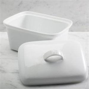 BIA Covered Butter Dish - 904199WH