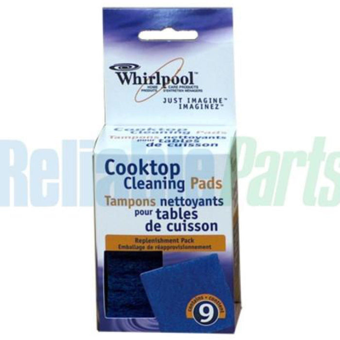 Whirlpool Cooktop Cleaning Pads 31609b