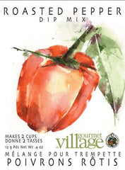 Roasted Pepper Dip Mix - Gourmet du Village