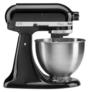 Kitchenaid Classic Series 4.5-Quart Tilt-Head Stand Mixer  Color Onyx BlackOnyx Black Canada