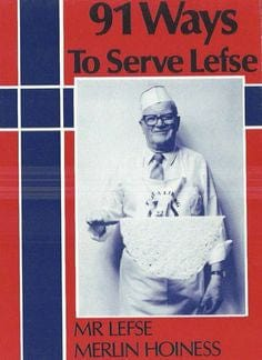 "Bethany Housewares ""91 ways to serve Lefse"" Recipe Book  *Price includes standard shipping"