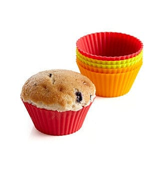 Bethany Housewares Silicone Muffin Liners (Set of 6)