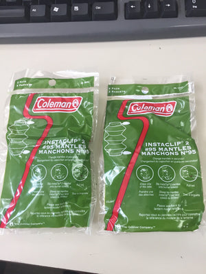 Coleman N 95 Instaclip Mantles #95 Canada includes shipping