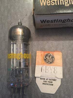 GE electronic tube 6BY8