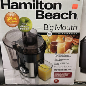 Hamilton Beach Big Mouth Juicer