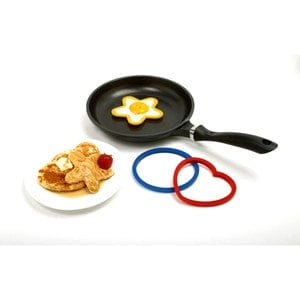 Norpro Silicone Pancake/Egg Ring- 3 pc set