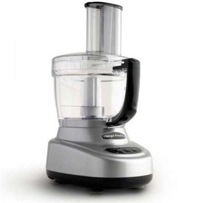 Omega Food Pro Food Processor - 11 & 4 cup Capacity