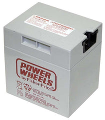 Power Wheels 12 volt Battery (Grey)  00801-1869 00801-0930