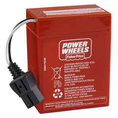 Power Wheels 6 volt Battery (Red)