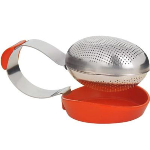 Trudeau Clip Tea Infuser - Available in Green, Orange & Purple -