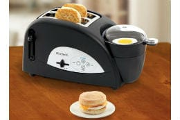West Bend 2 Slice, Egg & Muffin Toaster