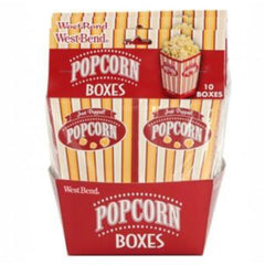 West Bend Popcorn Pop-up Boxes, set of 10
