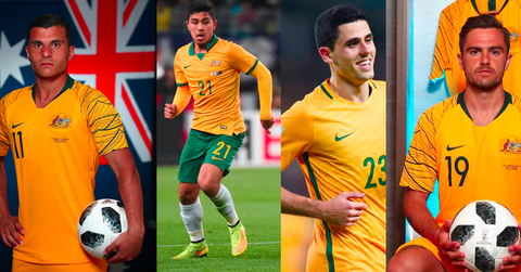 Socceroo players using Supacore