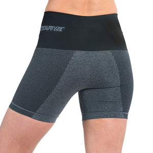 Patented Women's CORETECH® Injury Recovery and Postpartum Compression Shorts (Grey)