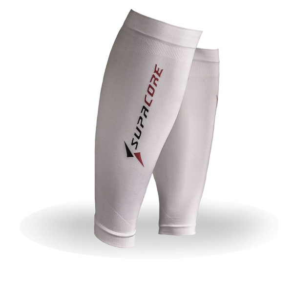 White Calf Compression Socks